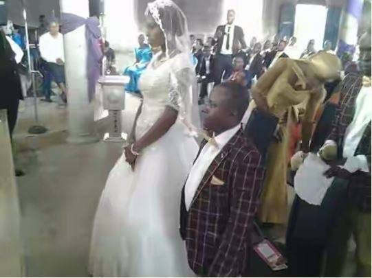 We wish them a blissful marriage