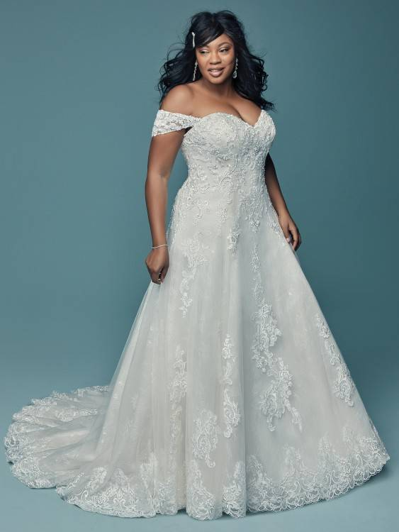 cute wedding dresses for short curvy brides design and style