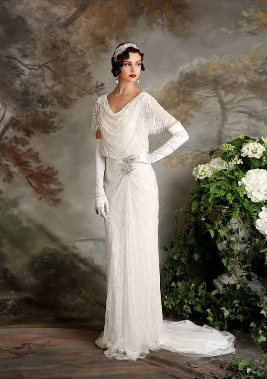 Ettia by Maggie Sottero: Great Gatsby Inspired Wedding Dresses