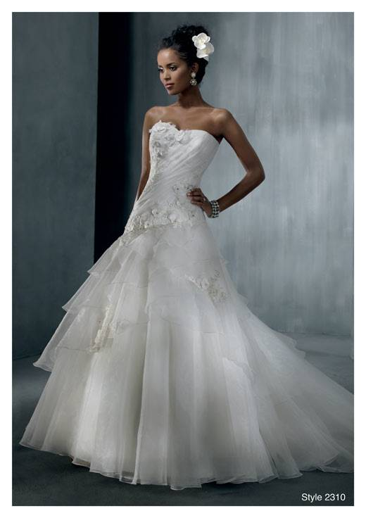 Truly Zac Posen Seamed Satin Wedding Dress With Big Bow 2018 Modest Strapless Covered Button Mermaid Fishtail Bridal Gown Wear Cheap Lace Wedding Dresses