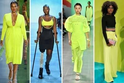 Women's color forecast on trend theme: Tea Party, detail