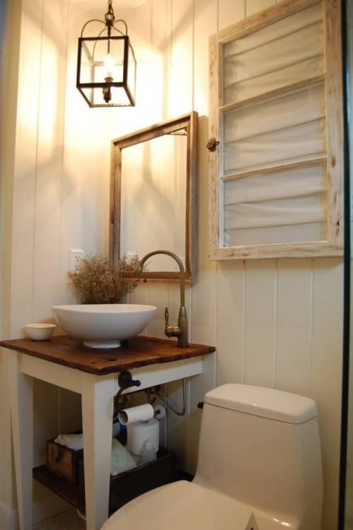 rustic modern  bathroom decor shower