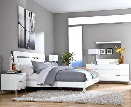 black and white bedroom ideas grey