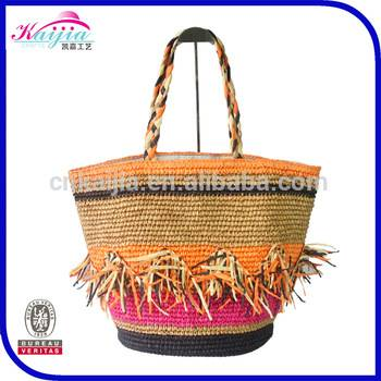 South Beach Stripe Beach Bag