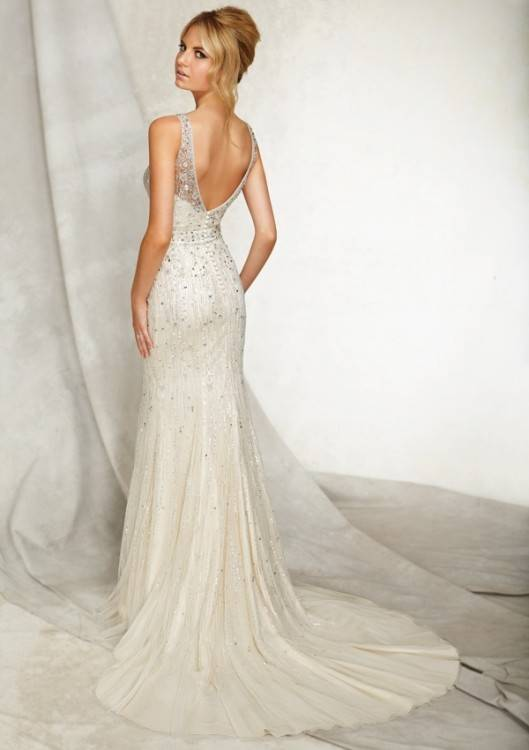 Wedding dresses with beautiful backs # wedding #dress #back