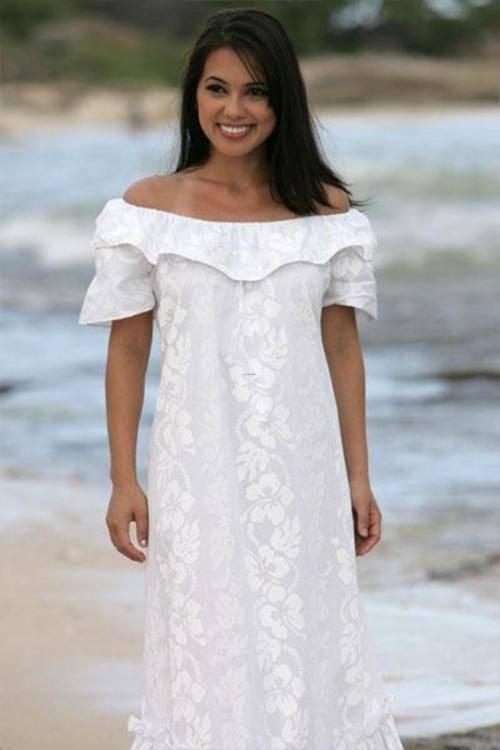 Beach Wedding Dresses, Hawaiian or Beach Themed Wedding