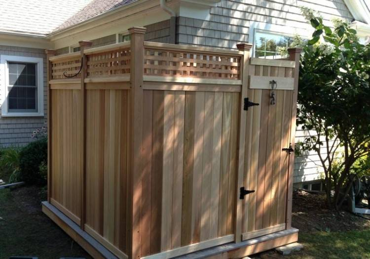 Full size of Outdoor Shower Stall How To Build An House Enclosures Cape Cod Ma