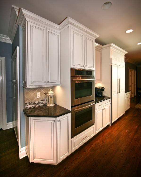 Beautiful Cinnamon & Ivory Kitchen Cabinets