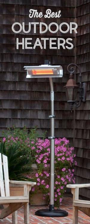 With patio heaters you can extend the seasonal enjoyment of your outdoor  space whatever