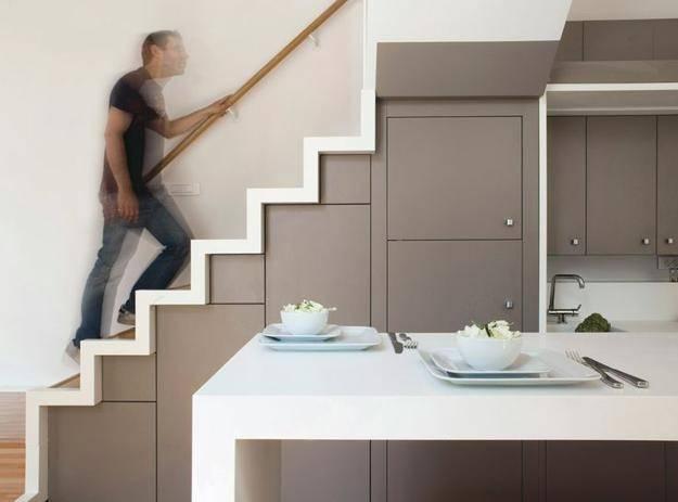 impressive cabinet under stairs