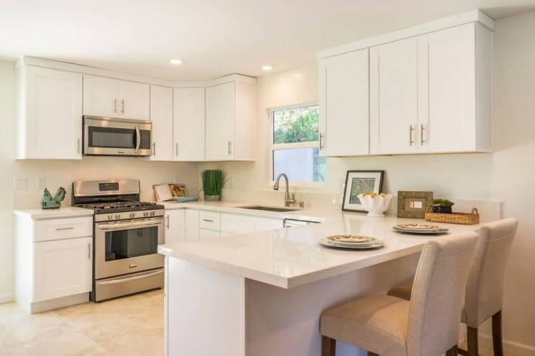 [Global Kitchen Design] Luxury Kitchen Small Quartz