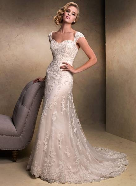Vestido De Noiva 2015 New Style Beaded Nigerian Bridal Gown Mermaid Lace Appliques Wedding Dresses With 3/4 Long Sleeve High Back Wedding Dress Designers