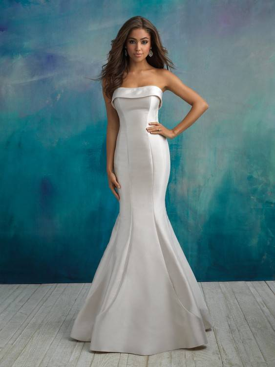 3 brides in different gown styles