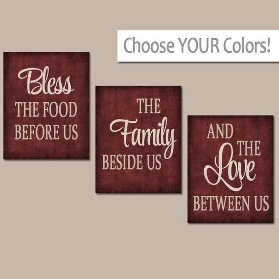 Trendy Kitchen Quotes Wall Art with Best 20 Kitchen Wall Art Ideas On  Pinterest