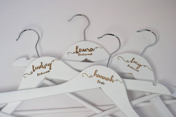 Miniature Lace and organza wedding dress with straps wedding favour with coat  hanger to hang on