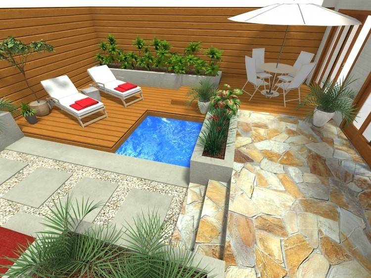 Modern Outdoor Patio Unique Cool And Relaxing Living Spaces Design Ideas  Garden On The
