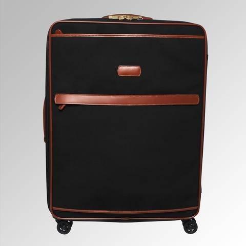 com | London Fog Luggage Chelsea 20 Inch Wheeled Club Bag, Olive Plaid, One Size | Suitcases
