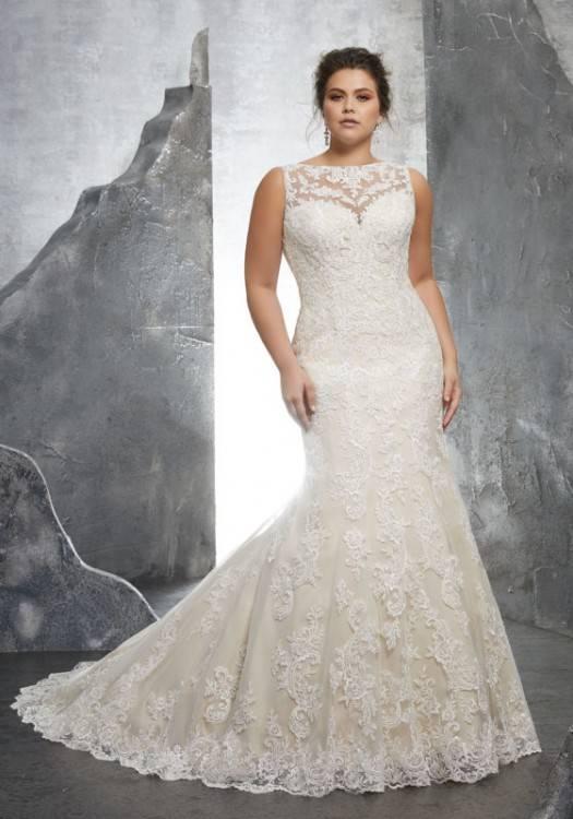 50s Wedding Dress, 1950s Style Wedding Dresses, Rockabilly Weddings Amour  Lace Wedding Gown Ivory