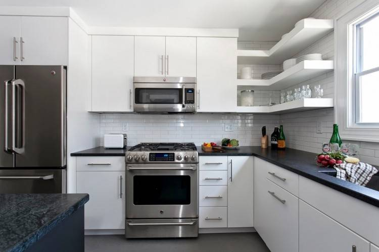 White Kitchen with White Appliances Beautiful 50 Best Small Kitchen Ideas and Designs for 2016 Of