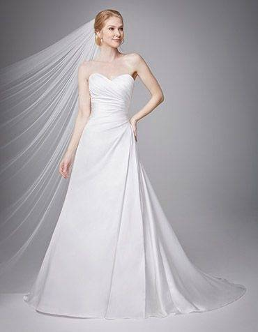 The gown style chosen was the