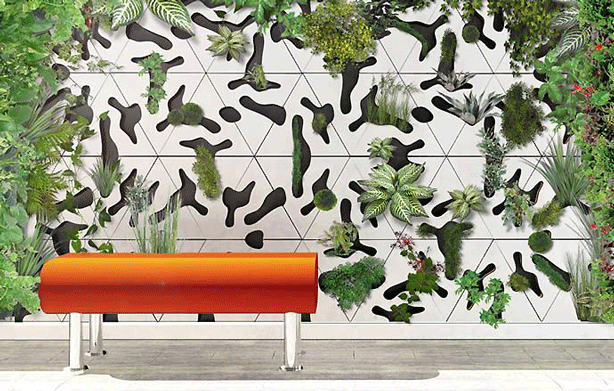 The Delightful Images of wall plants outdoor living herb wall the living  wall outdoor green wall living plant walls green wall design indoor  vertical garden