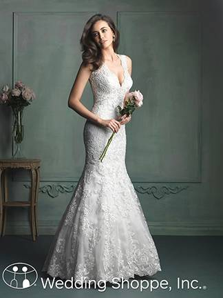 Stunning Bateau Neck 2016 Wedding Dresses With Bow Sheer Organza Short Sleeve Lace Bridal Gowns Ball Chapel Train Dress Wedding Style Online with