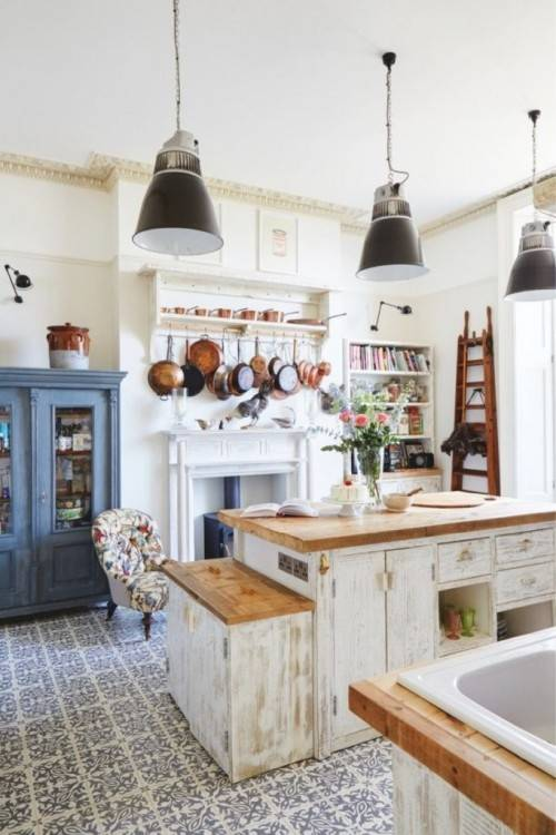 Quirky kitchen design ideas usually spring directly from a need to adapt to certain idiosyncrasies in the layout of the space, or a complete lack of space