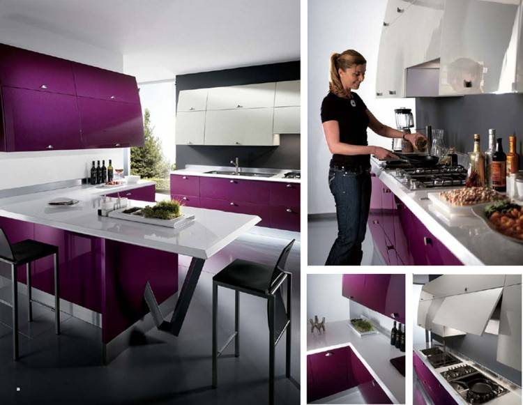 Full Size of Kitchen Countertop:purple Kitchen Towel Sage Green Kitchen Ideas Purple And Red