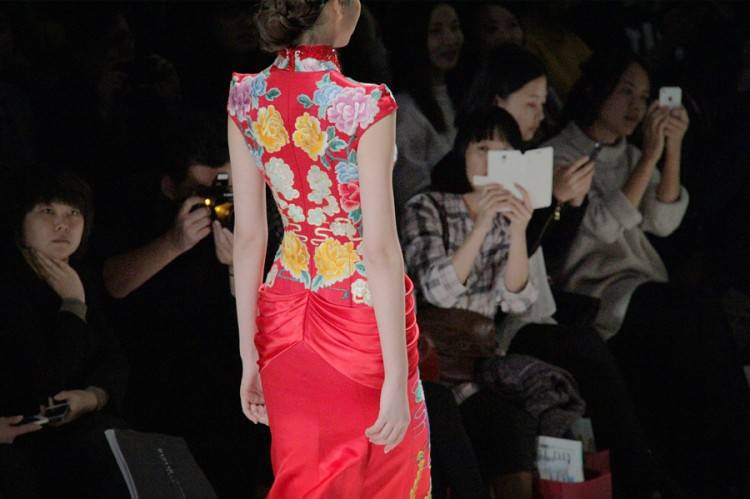 Vogue China has quickly gained in popularity and is visited by a lot of Chinese