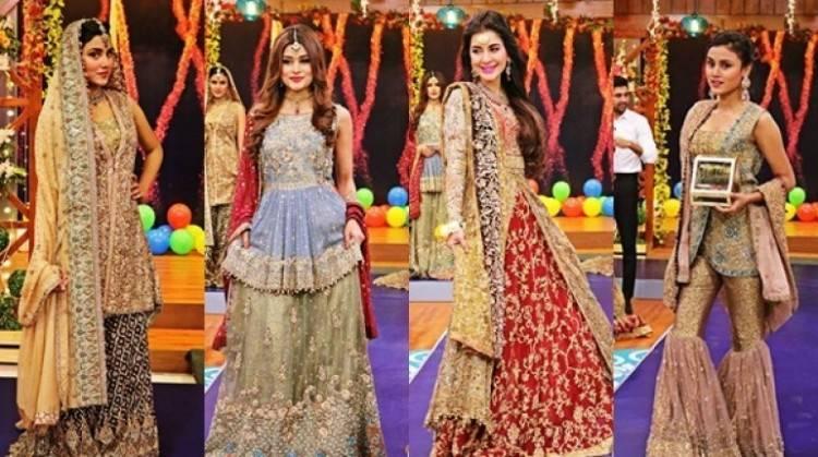 Pakistani fashion is  influenced