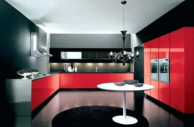 red kitchens ideas
