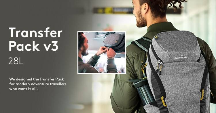 This particular backpack is ideal for business travel, and easily fits a 15