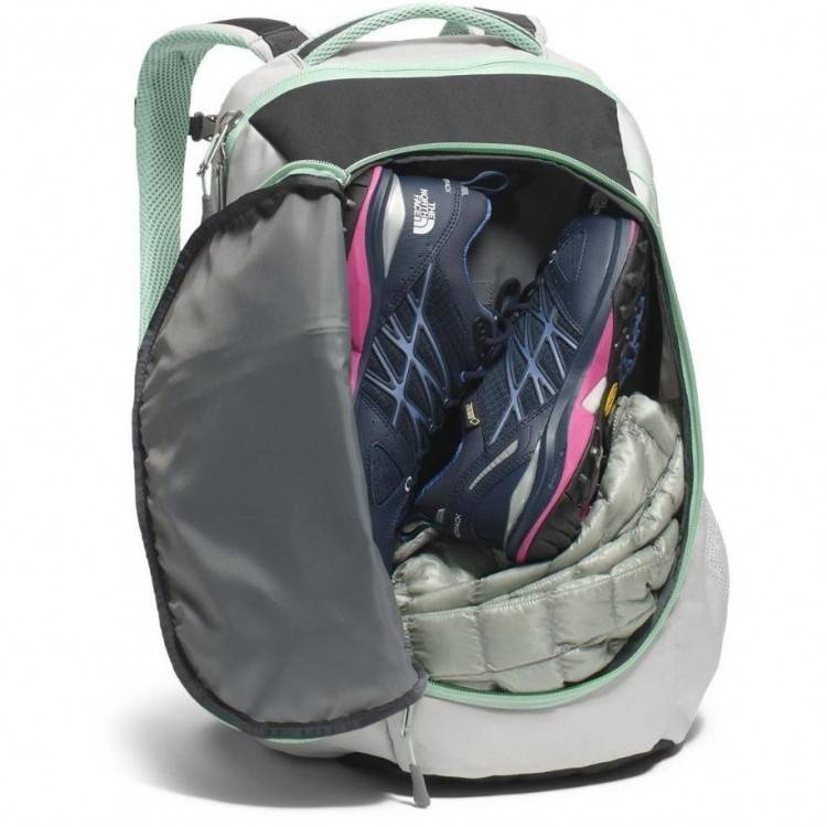North face WOMENS PIVOTER BACKPACK CHJ9 LUNAR ICE GREY SEDONA SAGE GREY