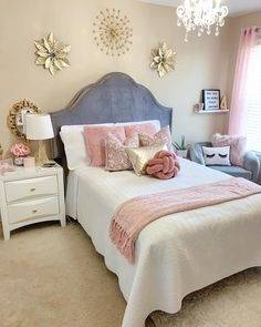 40+ Beautiful Teenage Girls' Bedroom Designs | Bedroom Ideas | Girls bedroom, Girl bedroom designs, Teenage girl bedrooms