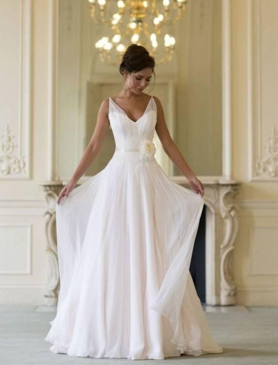 Wedding dress by Amsale