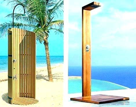 lovely outdoor shower