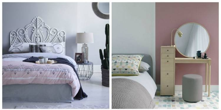pink and cream bedroom ideas