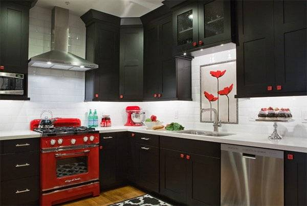 red and black kitchen ideas red black and white kitchen decorating ideas red and black kitchen