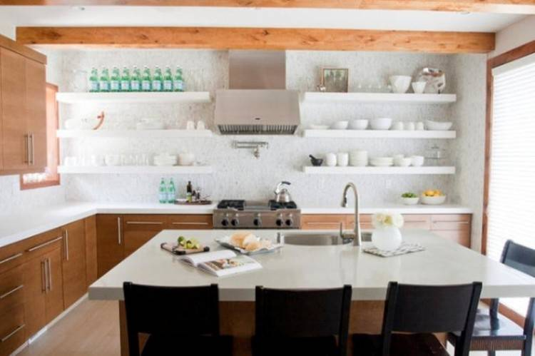 Kitchen shelves are that essential parts of every kitchen