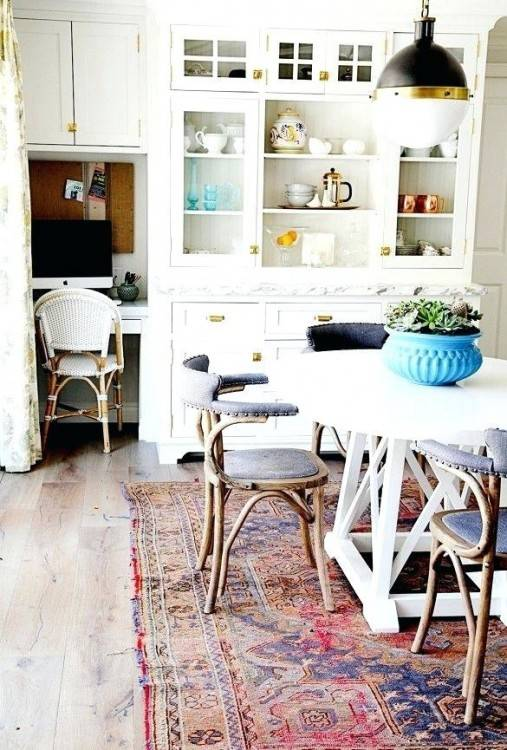 rugs for dining table