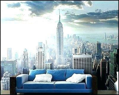 Sunshine New York Wallpaper Wall Mural | MuralsWallpaper