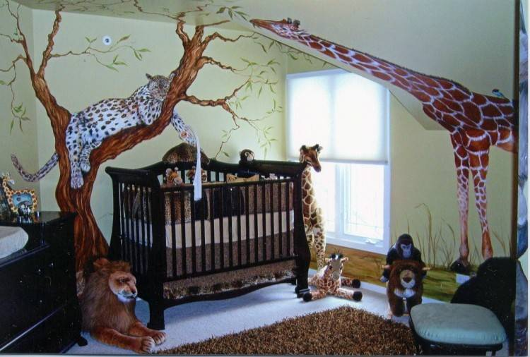 nature themed childrens bedroom the natural brown decoration daily decorating ideas
