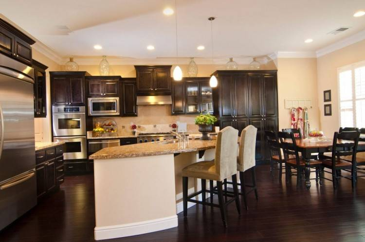 Wood Kitchen Cabinets Ideas and Kitchen Islands Perth
