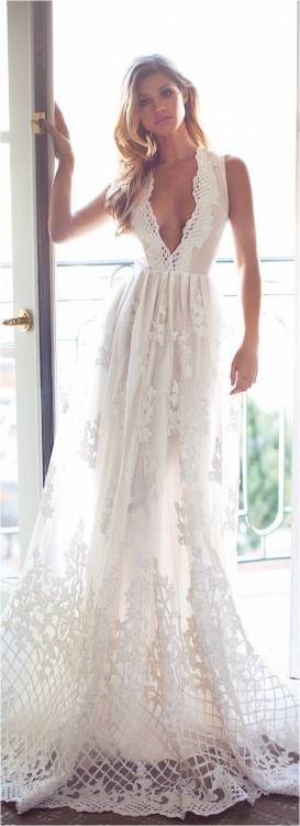 This looks like the most comfortable wedding dress