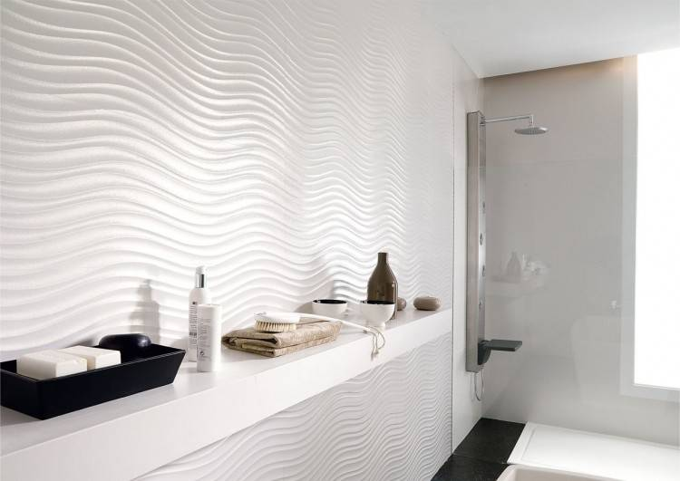 These original looking elements combined give a sense of pleasant relaxation, making the time spent in the bathroom an experience of infinity