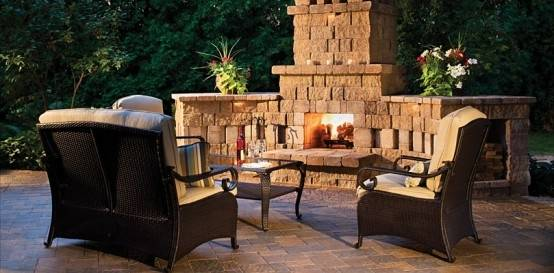 Outdoor living isn't just about the summer time