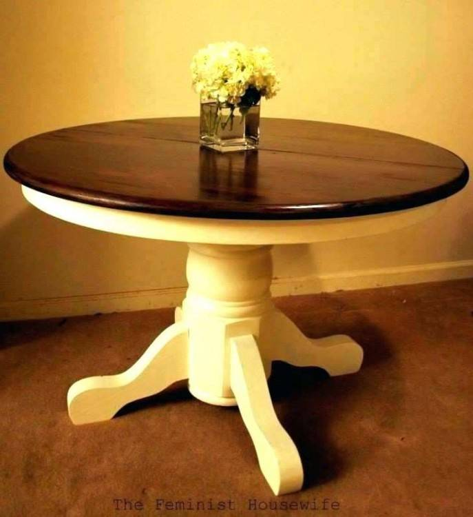 dining room table chalk paint ideas for