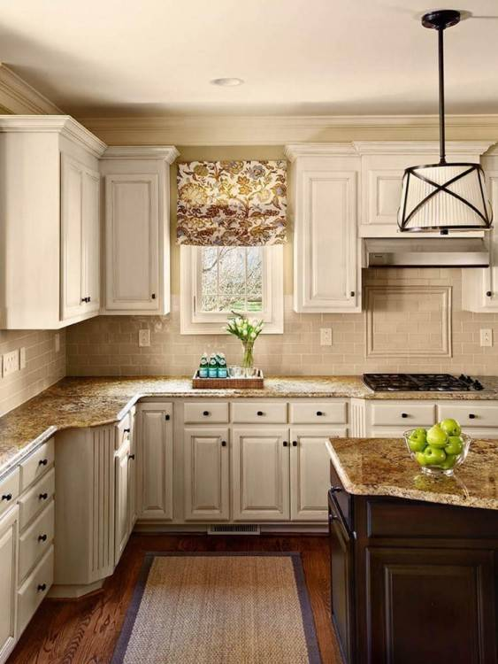 refacing the kitchen cabinets in my client's home