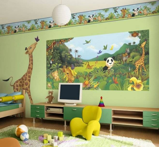 jungle room ideas