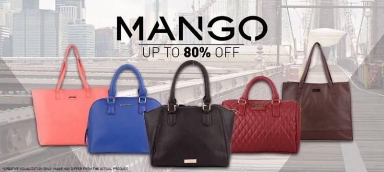 Stylish Mango bags are on sale at Ensogo,